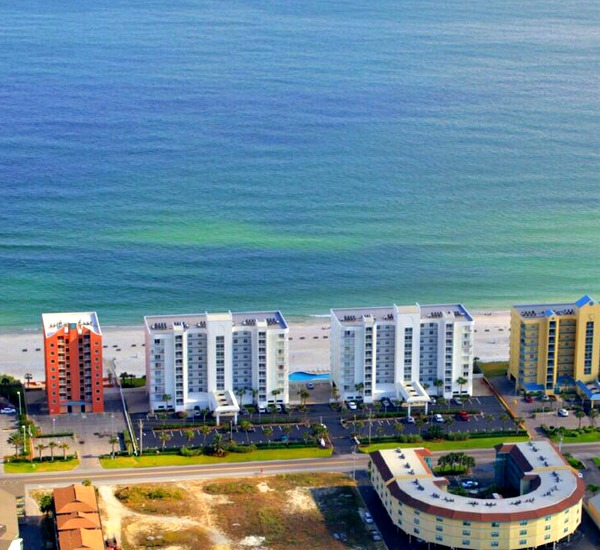 Aerial view of Ocean House Gulf Shores