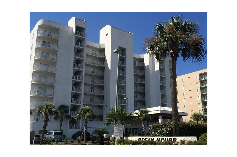 Ocean House is directly on the beach in Gulf Shores Alabama