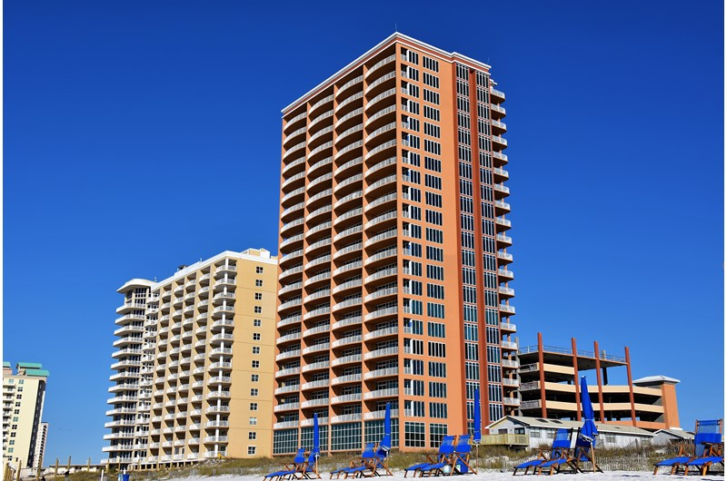 Phoenix Condos in Gulf Shores Alabama are directly on the Gulf