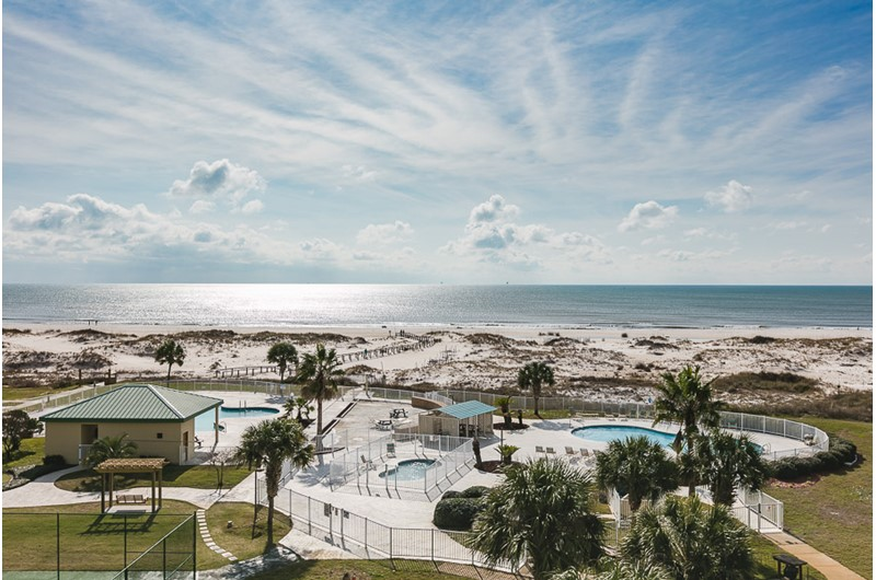 View from Plantation Palms in Gulf Shores Alabama