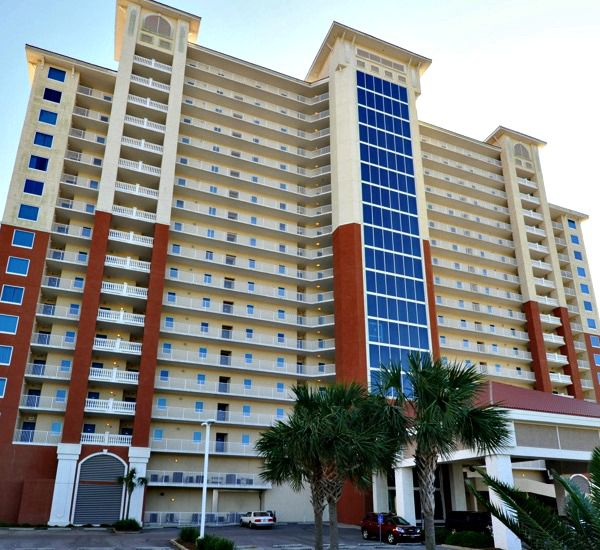 Exterior view from the street at San Carlos Gulf Shores