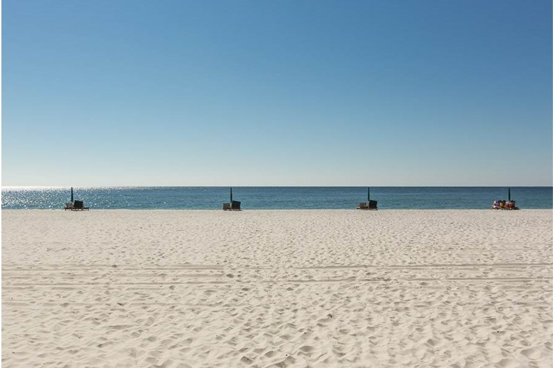 Walk right to the Gulf from San Carlos in Gulf Shores Alabama