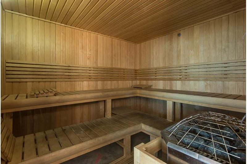 Sauna at San Carlos in Gulf Shores Alabama