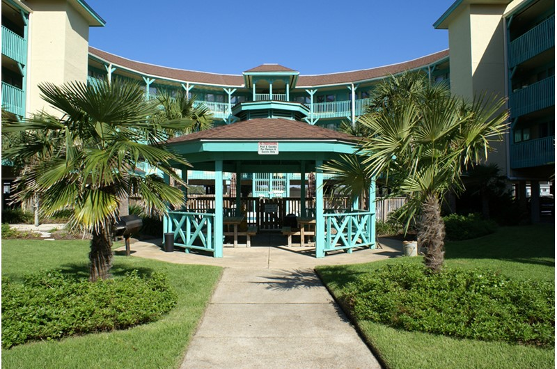 Gazebo at Seabreeze in Gulf Shores Alabama