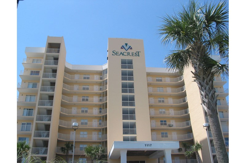 SeaCrest is a Gulf front condo in Gulf Shores AL