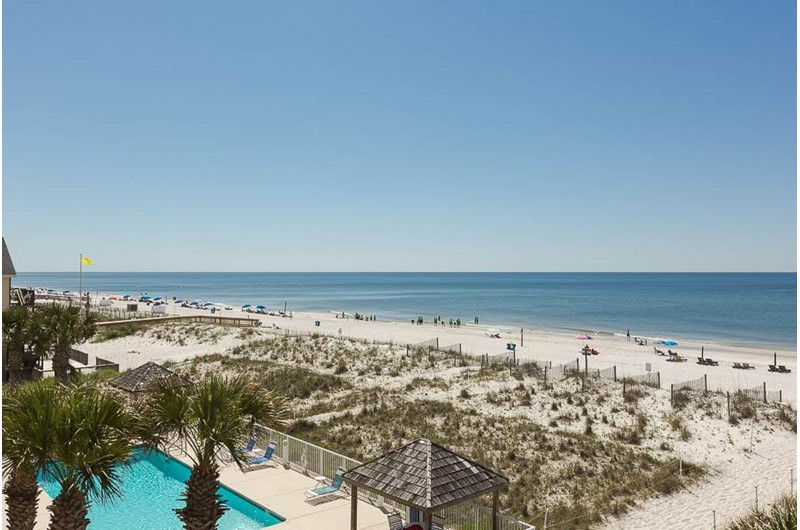 Wonderful view from SeaCrest in Gulf Shores Alabama