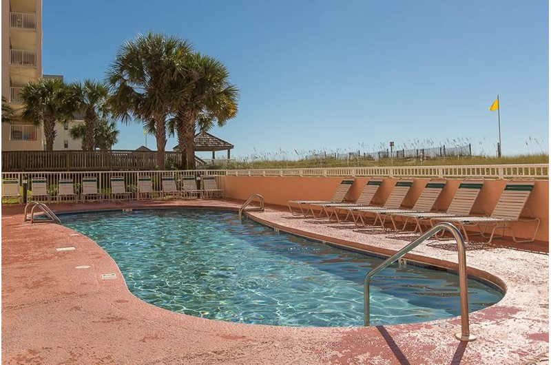 Nice cool pool at SeaCrest in Gulf Shores Alabama