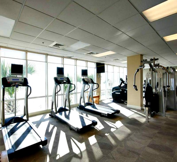 Seawind Condos Fitness Center Gulf Shores AL