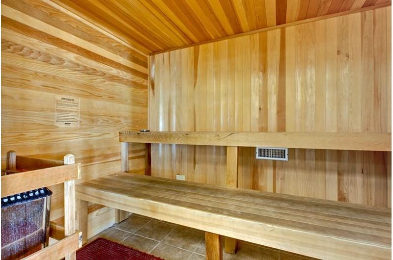 Sauna at Seawind in Gulf Shores Alabama