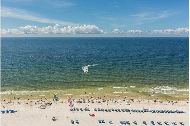 Direct Gulf view from Seawind in Gulf Shores Alabama