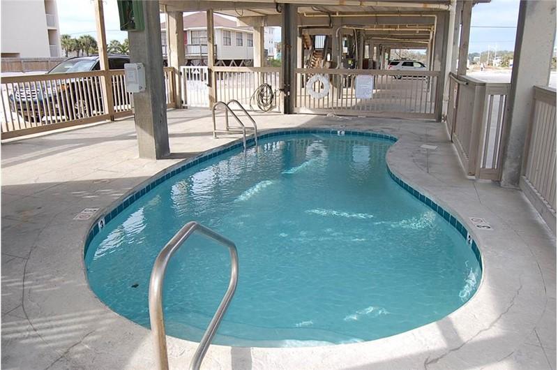 Spyglass pool area in Gulf Shores AL