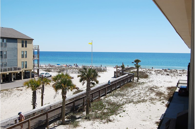 Nice view of the Gulf from Spyglass in Gulf Shores Alabama