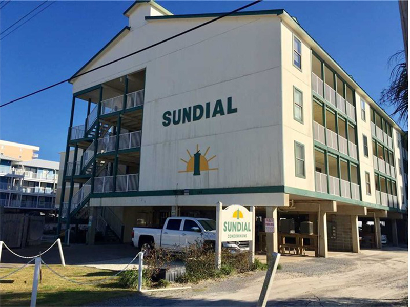 Sundial in Gulf Shores AL