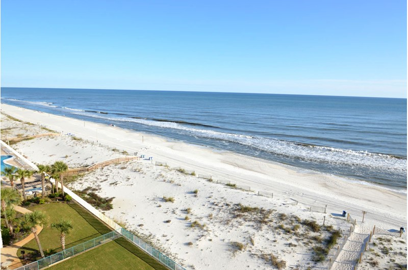 You'll thrill at the Gulf views from your condo at Surfside Shores Gulf Shores.