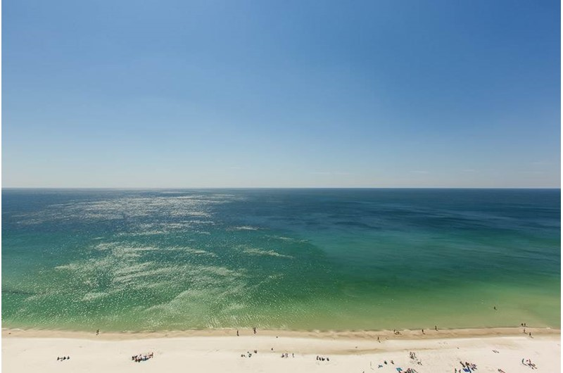 View of the Gulf from The Colonnades in Gulf Shores Alabama