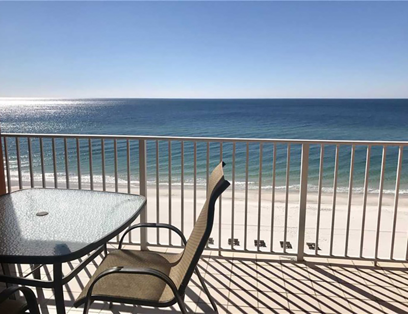 Have balcony time with great views at Westwind Condominiums in Gulf Shores Alabama