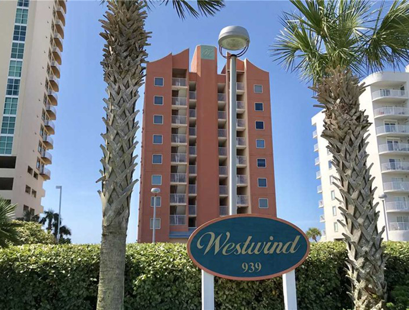 Westwind Condominiums in Gulf Shores AL