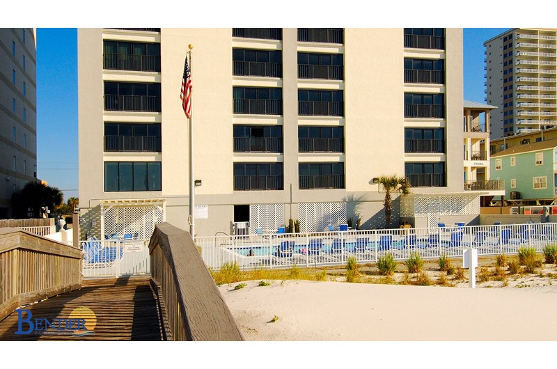 Gulf Tower Condo pool in Gulf Shores Alabama