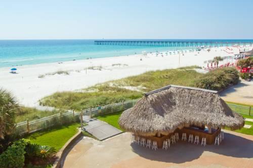 hampton inn pensacola beach in pensacola beach florida. Black Bedroom Furniture Sets. Home Design Ideas