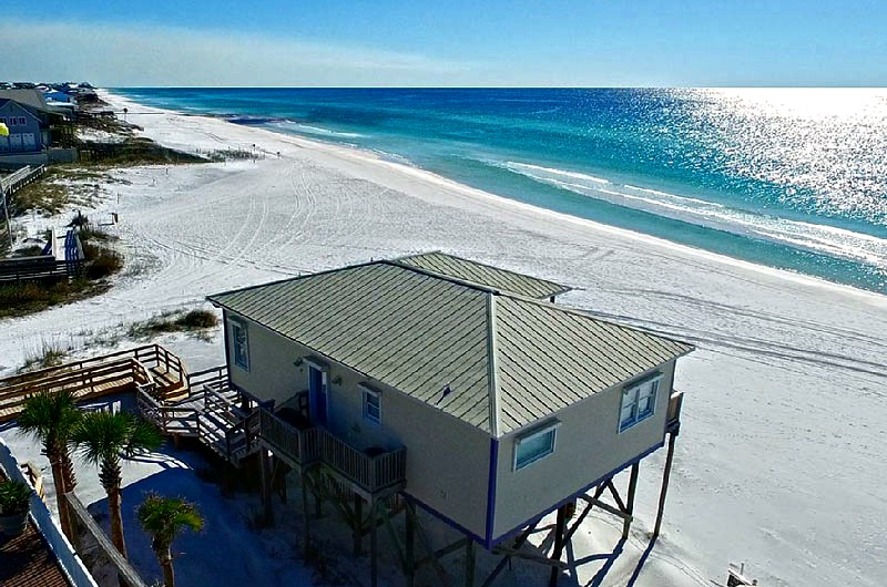 Beach house on Dune Allen Beach in Santa Rosa Beach FL