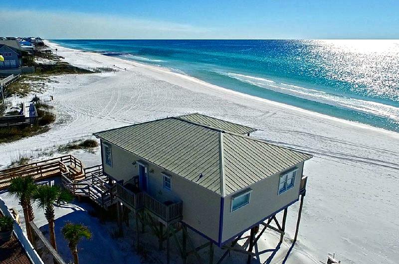Beach house on Dune Allen Beach in Santa Rosa Beach FL