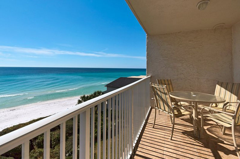 Spend hours taking in the view at Beachcrest in Seagrove Beach Florida