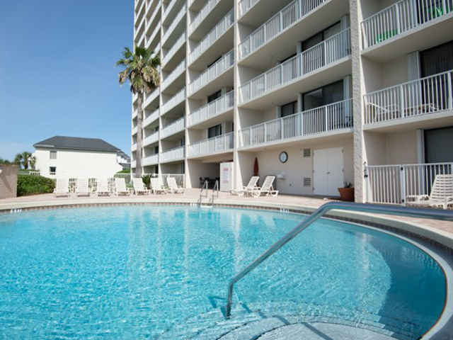 Large pool to enjoy at Beachcrest Seagrove Beach Florida