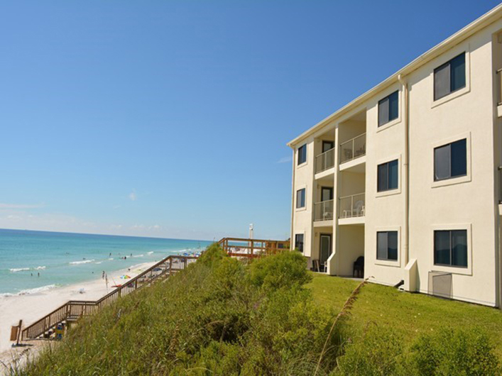 Great vantage point from Beachside Condominiums in Seagrove Beach Florida