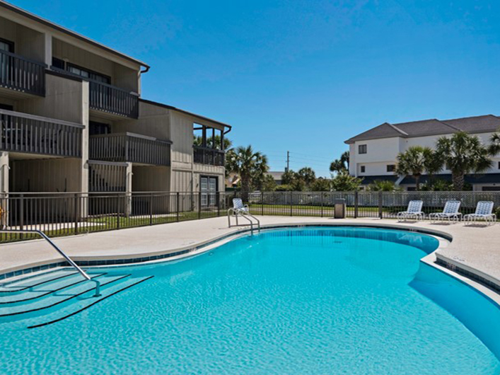 Take a dip in the large pool at Beachside Condominiums in Seagrove Beach Florida
