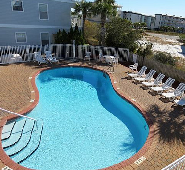Pool at Beachside Villas Santa Rosa Beach FL