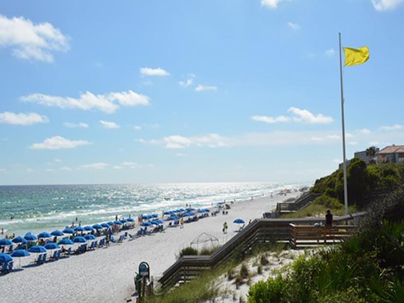 Easy beach access from Cassine Station in Seagrove Beach FL