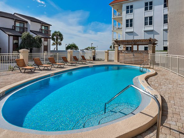Nice pool area at Dune Villas Santa Rosa Beach FL