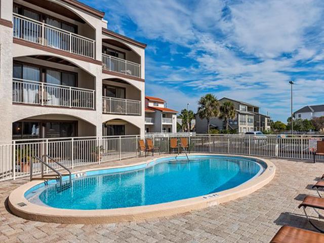 Cool off in the pool at Dune Villas Santa Rosa Beach FL