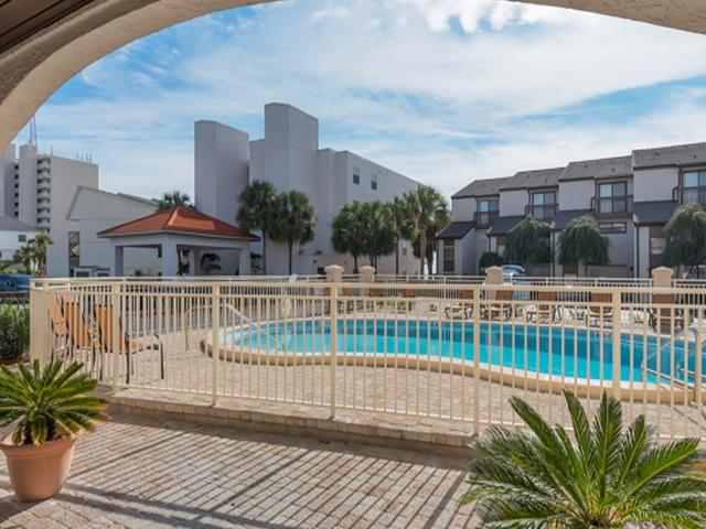 Nice pool deck area at Dune Villas Santa Rosa Beach FL