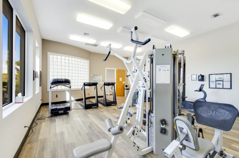 Fitness Center of Dunes of Seagrove at Seagrove Beach Highway 30A