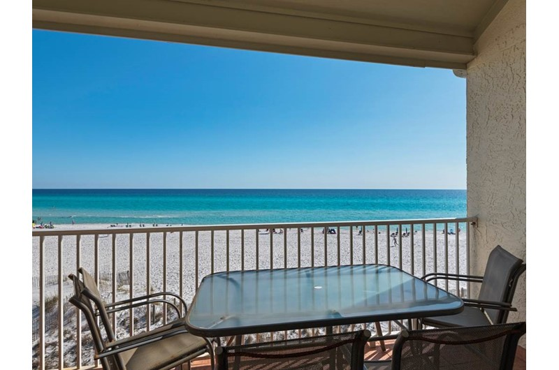 Get a lovely view of the Gulf from Eastern Shores Condominiums in Highway 30-A Florida