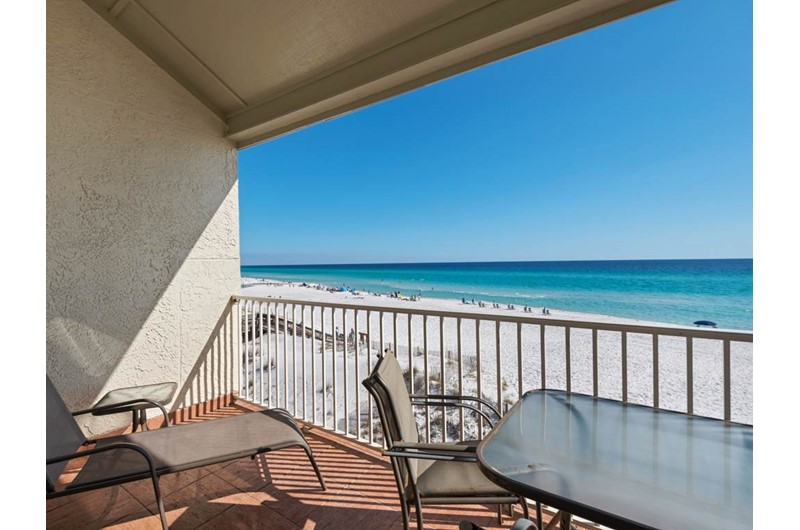 Set on your balcony and see down the coastline from Eastern Shores Condominiums in Highway 30-A Florida