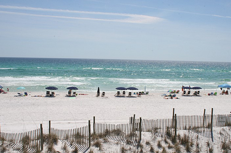 Spend hours in the Waves and relaxing on the sand at Eastern Shores Condominiums in Highway 30-A Florida