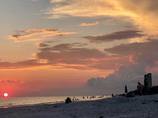 Amazing sunsets await you at Eastern Shores Condominiums in Highway 30-A Florida