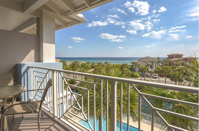 Enjoy the view from Gulf Place Cabanas in Santa Rosa Beach FL
