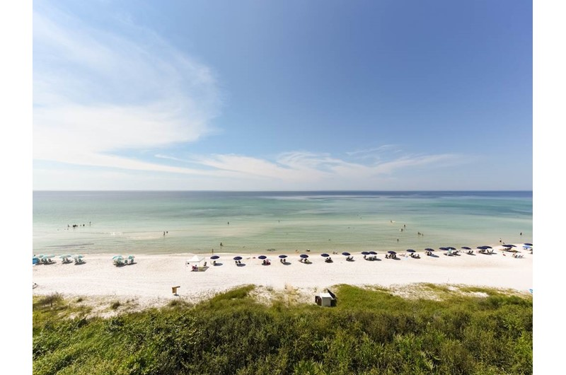See miles of Gulf from High Pointe Resort in Highway 30-A Florida