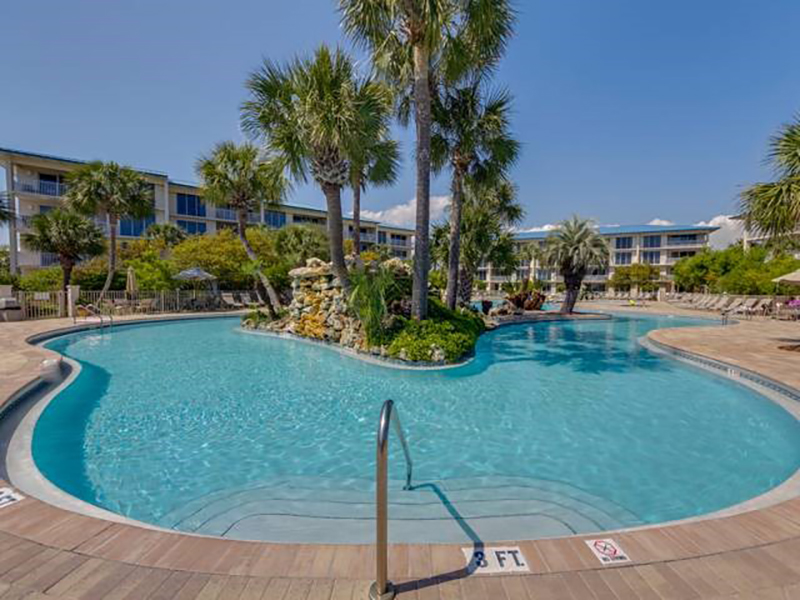 You will spend hours on the lazy river at High Pointe Resort in Highway 30-A Florida