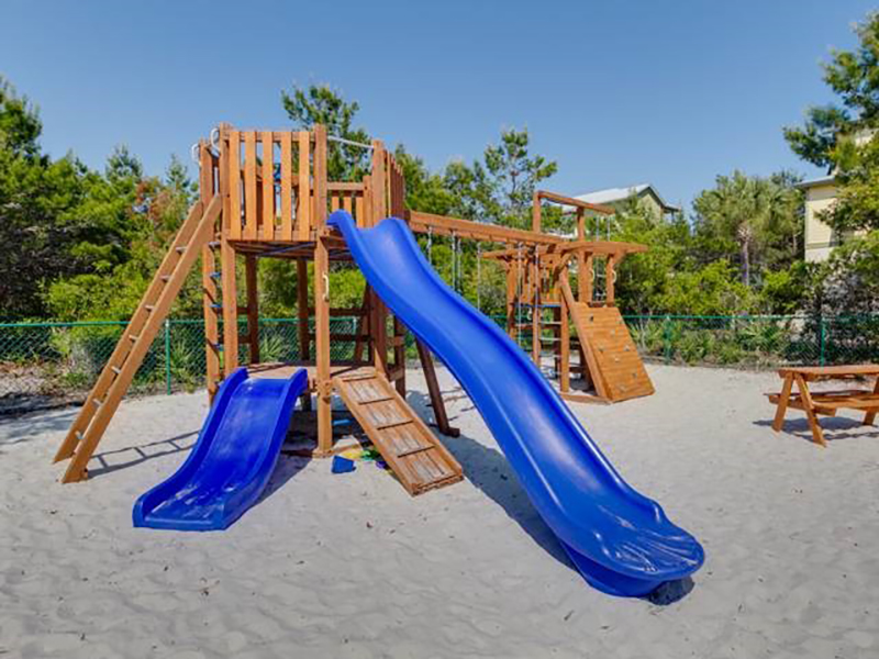 The kids will have hours of fun at the playground at High Pointe Resort in Highway 30-A Florida