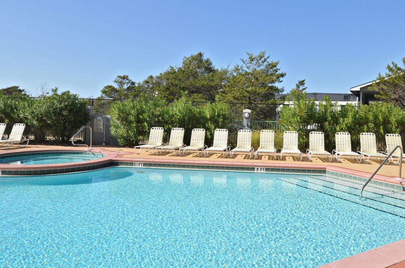You will have plenty of pool deck space at Inn at Seacrest Beach Highway 30-A Florida