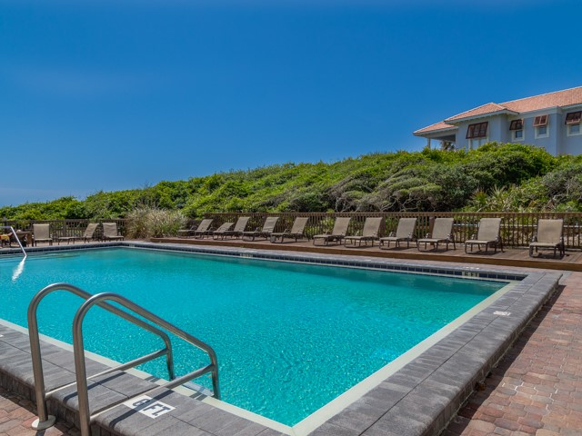 Gorgeous view from the pool at One Seagrove Place Highway 30a Florida