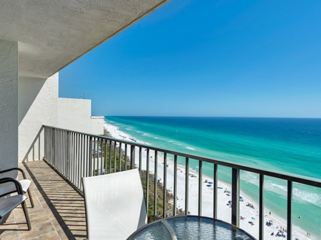 Amazing Gulf views from your balcony at One Seagrove Place Highway 30a Florida
