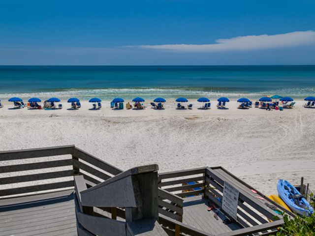 Easy access to the crystal sands from One Seagrove Place Highway 30a Florida