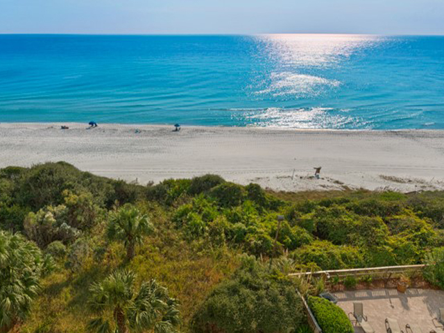 The beach and water are steps from your condo at One Seagrove Place Highway 30a Florida