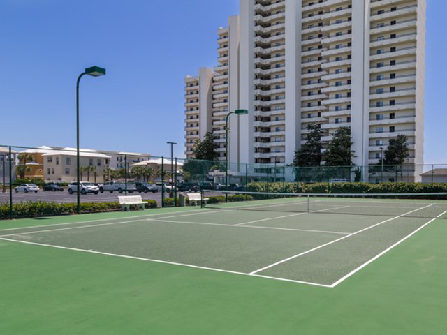 Tennis courts await at One Seagrove Place Highway 30a Florida