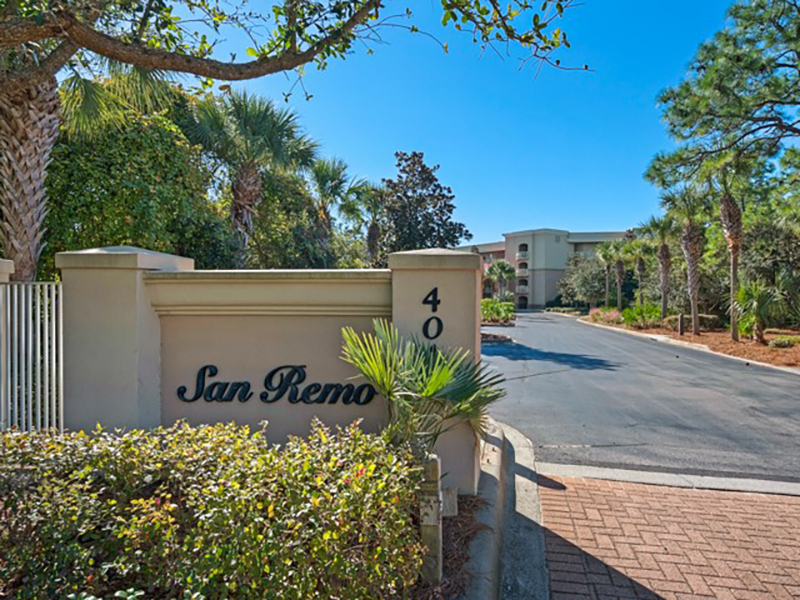 San Remo Santa Rosa Beach Florida